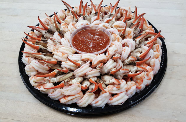 Shrimp & Crab Claw Party Tray med