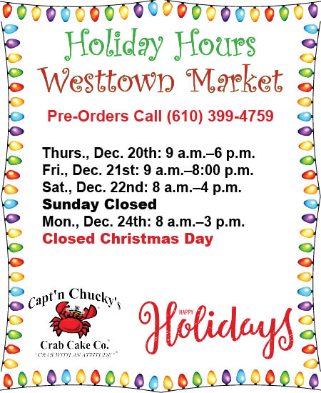 holiday hours 2018 westtown 2