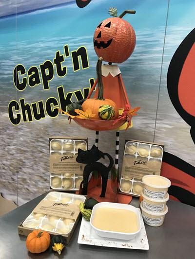 Pumpkin Clam Chowder & Talluto Pumpkin Ravioli